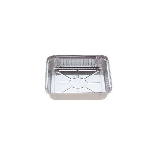 Foil Container [7223] - Medium Square Tray / (Equiv.360) - 215x215X36mm - Capacity 1500ml