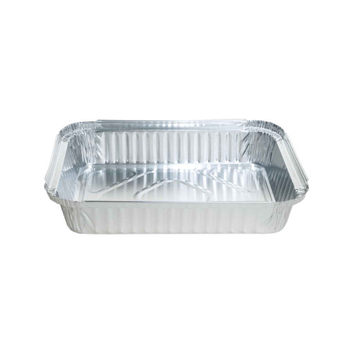 Foil Container [7225B] - Shallow Oblong Tray - 233x169x42mm - Capacity 1500ml