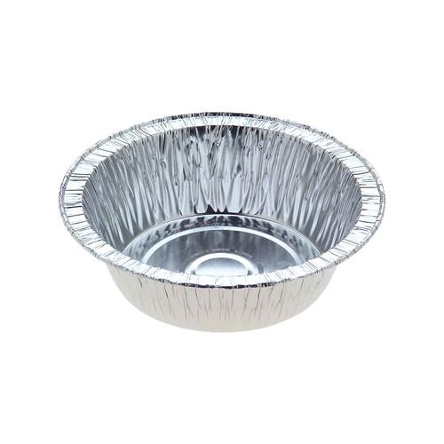 Foil Container [2111C] - Single Serve Pie / (TI)99 (B)76 (H)31mm - Capacity 200ml