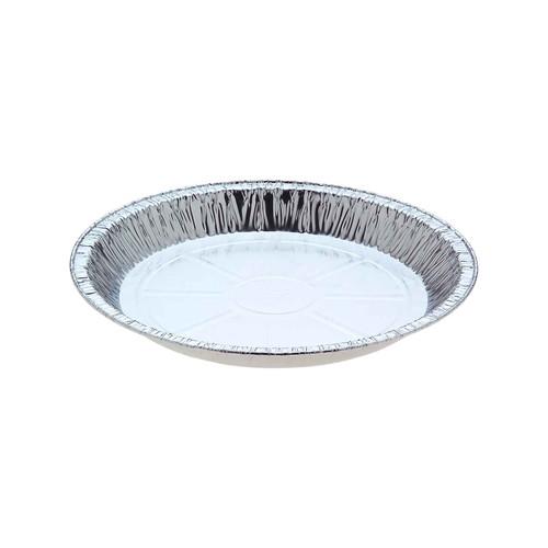 Foil Container [4123C] - Large Round Pie / (TI)209 (B)171 (H)21mm - Capacity 635ml