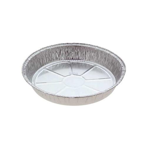 Foil Container - VELTA [4136] - Round BBQ Roaster