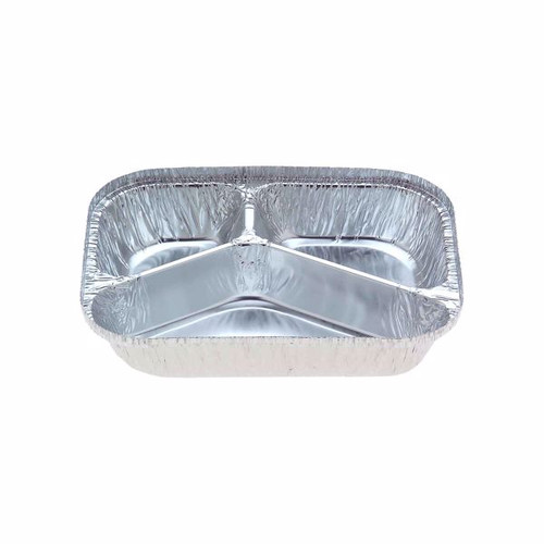 Foil Container - 3 Part Meal Tray [7420]