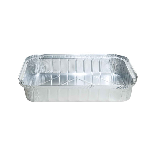 Foil Container - Roasting Tray RECTANGULAR 10kg / (TI)520 (B)320 (H)80mm - Capacity 1190ml