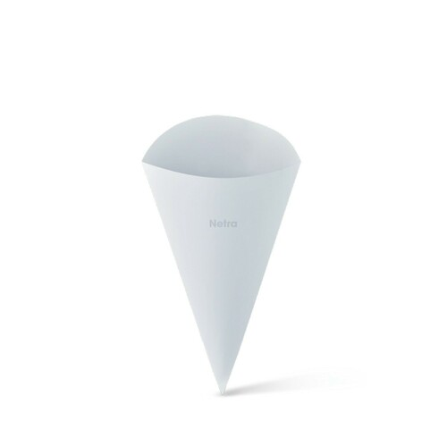 Food Cone (White Board) - SMALL