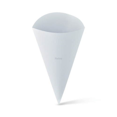 Food Cone (White Board) - LARGE