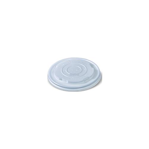 LID FLAT (CPLA) - GREENMARK - 90mm No Hole Clear