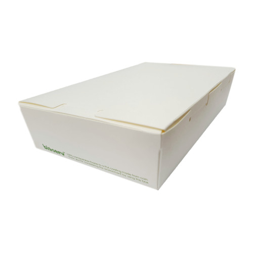Lunch Box (White Board) - LARGE (1900ml) - 195x140x65mm
