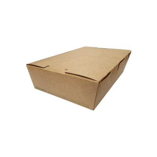 Lunch Box (Brown Kraft) - SMALL (700ml) [L333S0010] 150x100x45mm