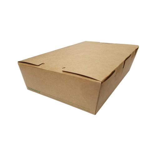 Lunch Box (Brown Kraft) - MEDIUM (1100ml) - 180x120x50mm - 200/CTN