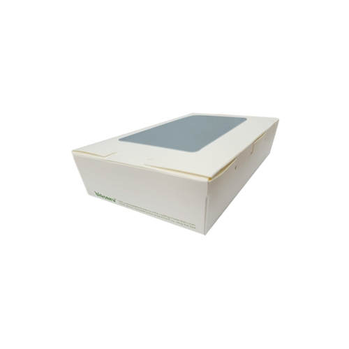 Lunch Box (White Board) with Window - EX SMALL (400ml) - 120x88x37mm