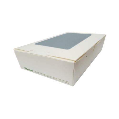 Lunch Box (White Board) with Window - MEDIUM (1100ml) - 180x120x50mm