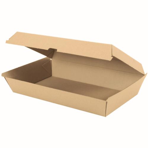 Family Box (Corrugated) - PLAIN Brown Kraft [PCB11] - 290x170x85mm