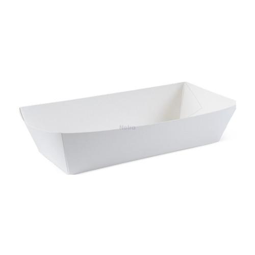 Hot Dog Tray (White Board) - DETPAK