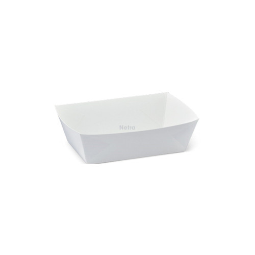 Food Tray (White Board) - #1 EXTRA SMALL - DETPAK