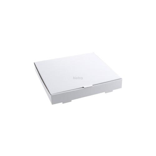 "Pizza Box - WHITE Plain 11"" - Double Fold"