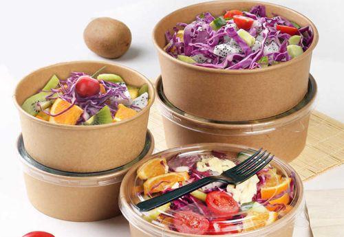 Salad Bowl 16oz - Brown Kraft (PLA)