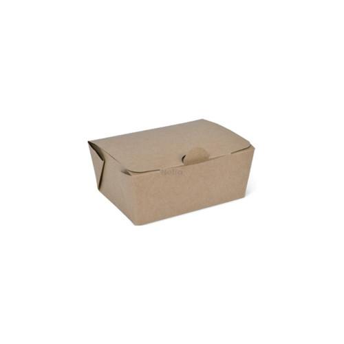 Takeaway Box (Brown Kraft) - EX-SMALL (400ml) DETPAK