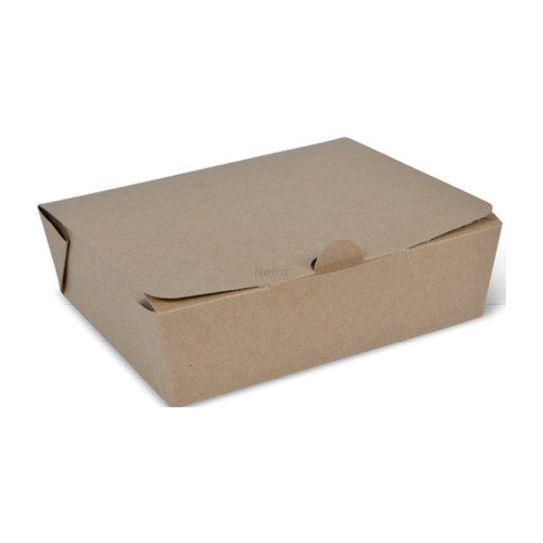 Takeaway Box (Brown Kraft) - LARGE (1000ml) - DETPAK