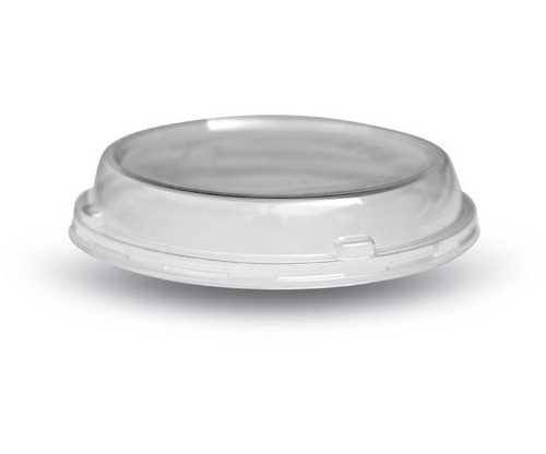 LID DOMED (PLA) - Outside fit [DC-120D] to suit PLA Deli Container 8 to 32oz