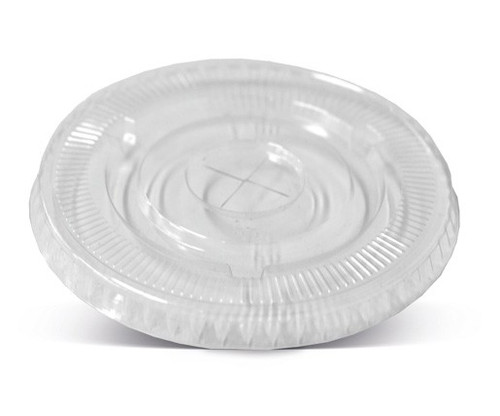 LID FLAT (PLA) - Outside fit [DC-120F] to suit PLA Deli Container 8 to 32oz