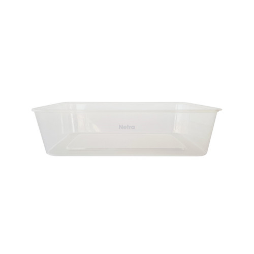Rectangular Container [G-750ml] - 750ml Clear