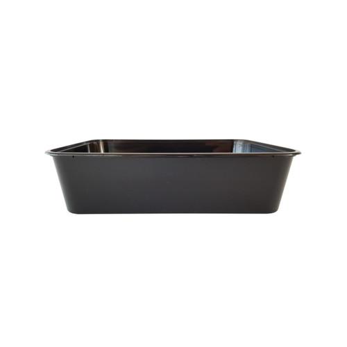 Rectangular Container [G-750B] - 750ml Black
