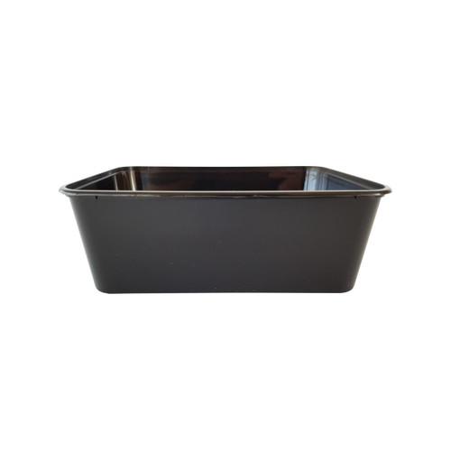 Rectangular Container [G-1000B] - 1000ml Black
