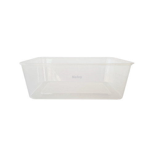 Rectangular Container [G-1000ml] - 1000ml Clear