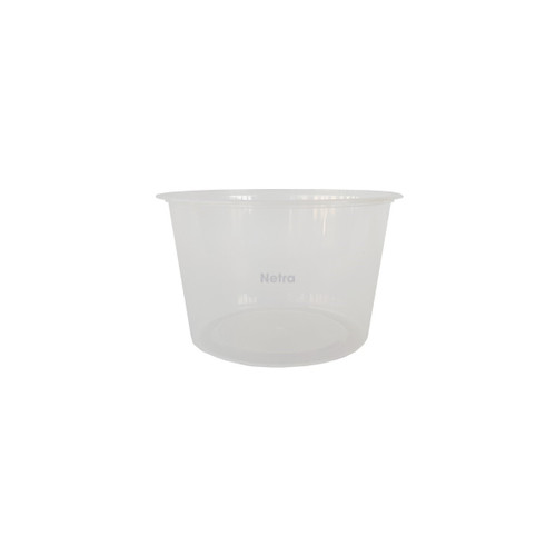 Round Container [RB-500] - 500 ml Clear