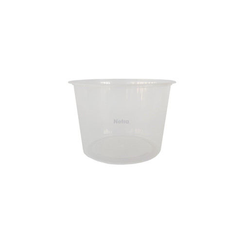 Round Container [RB 600] - 600ml Clear