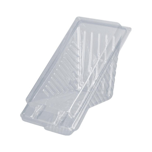 Sandwich Wedge - 3 Point Large Deluxe Plastic Clr 174x88x85mm