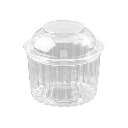 Sho Bowl (PET) - 16oz (455ml) with Hinged DOME LID