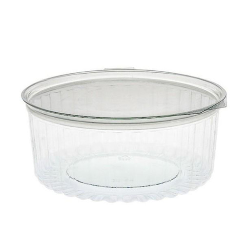 Sho Bowl (PET) - 24oz (682ml) with Hinged FLAT LID