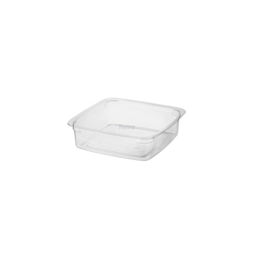 Reveal (PET) - Square Container - 125ml SMALL