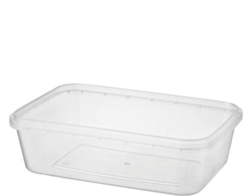 CASTAWAY Locksafe - Tamper Evident - 750ml Rectangular Container [CA-LSREC750]
