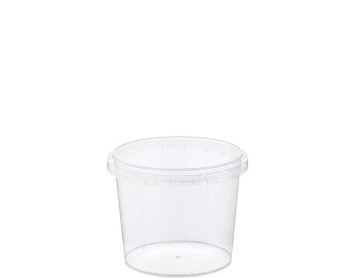 Locksafe - Tamper Evident - 265ml SMALL Round Container - [CA-LS265] / Ø87 x 71H