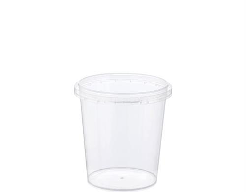 CASTAWAY Locksafe - Tamper Evident - 335ml SMALL Round Container / Ø87 x 93H