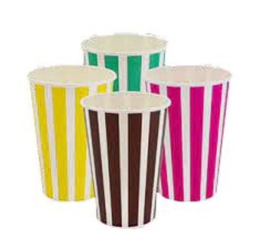 Thickshake Cup (Paper) Candy stripe - 16oz (488ml) - [CSCC16]