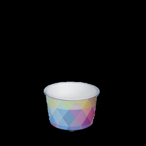 Ice Cream Cup - Paper Printed - 90ml (3oz) 1 Scoop