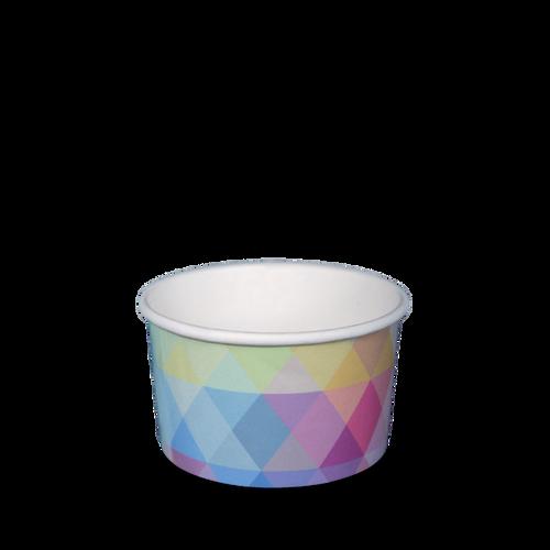 Ice Cream Cup - Paper Printed - 150ml (5oz) 2 Scoop - [N735S0260]