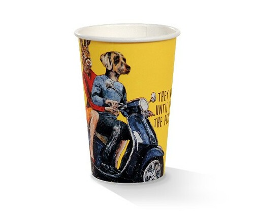 Coffee Cup (PLA) - SINGLE Wall - 10oz ART Print [APC10S]