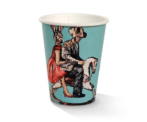 Coffee Cup (PLA) - SINGLE Wall - 12oz ART Print [APC12S]