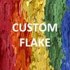 "1/32"", 1/16"", or 1/8"" Custom SOLID Flake (per lb.)  SHIPS FROM TORGINOL"
