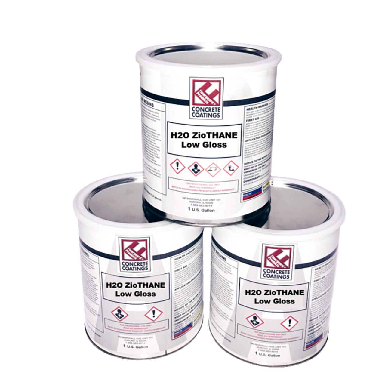 H2O ZioTHANE (Low Gloss) - 3 Gallon Kit