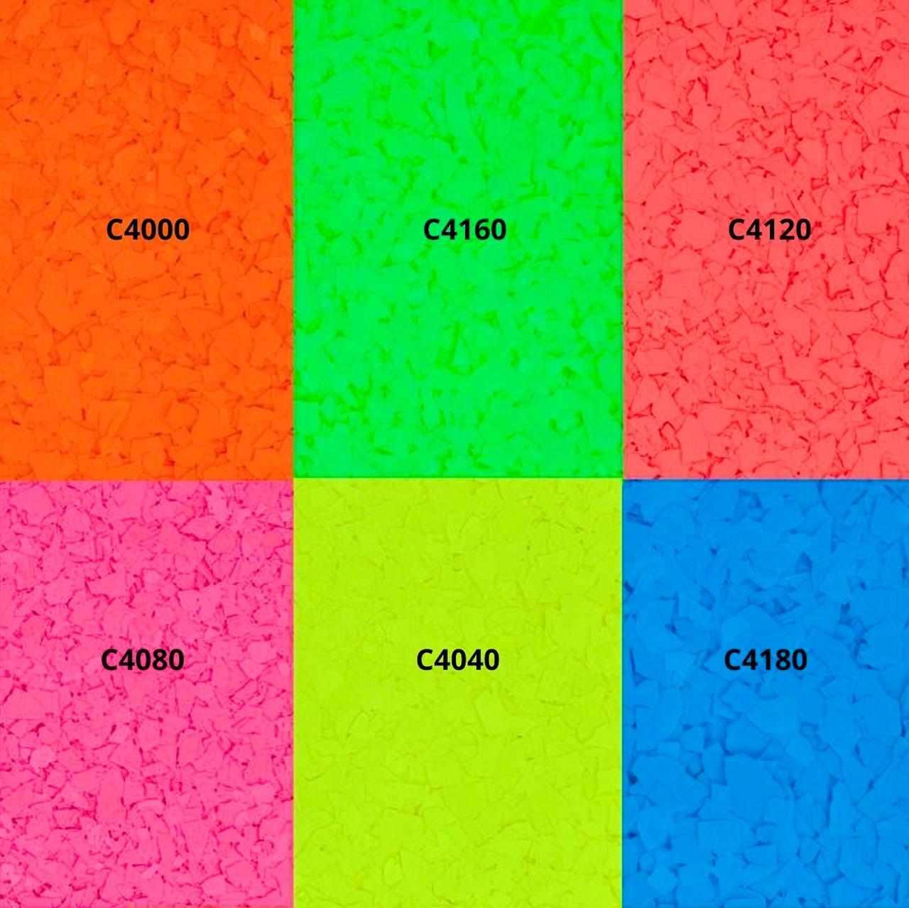 Custom Fluorescent Flake (sold per lb.)