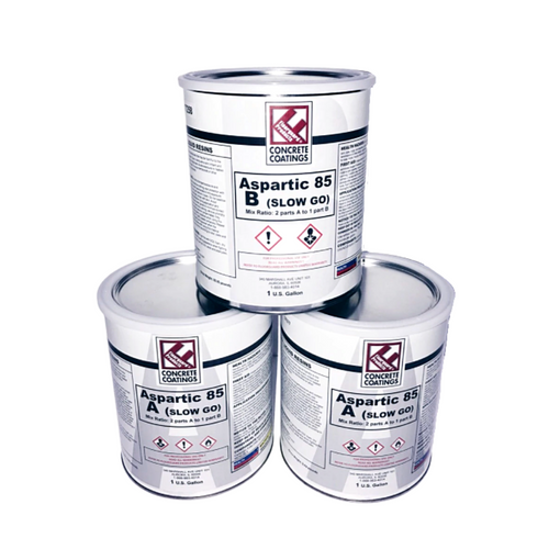 Aspartic 85 Slow Go® - 3 Gallon Kit