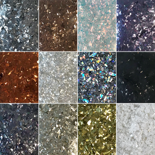 Random Cut Glitter (per lb.)- SHIPS FROM TORGINOL