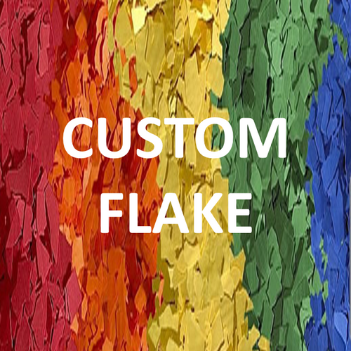 "1/32"", 1/16"", or 1/8"" Custom SOLID Flake (per lb.)"