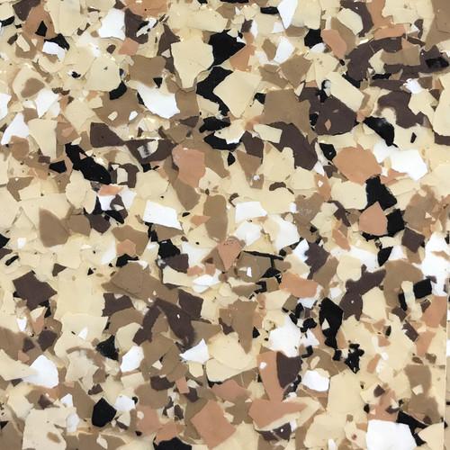 """RIVER ROCK (Torginol's FB-517 Outback)- Granite Flake  1/4"""" (40 lb.)"""