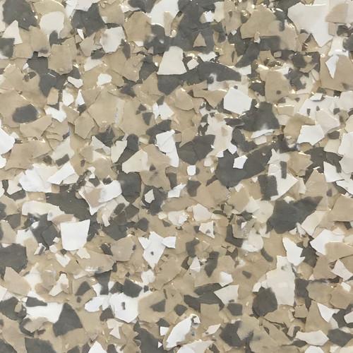 "BEACH (Torginol's FB-706 Madras)- Granite Flake  1/4"" (40 lb.)"